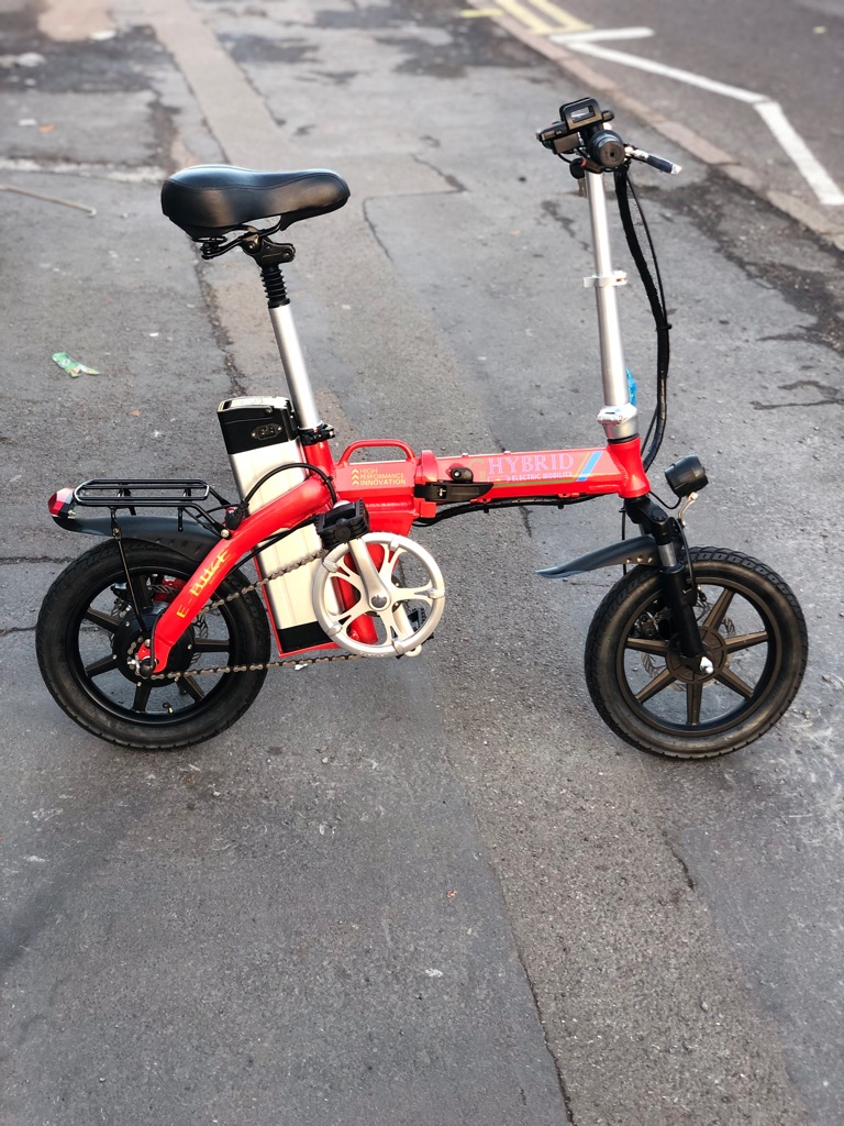 Compact Electric Bike with twist & go