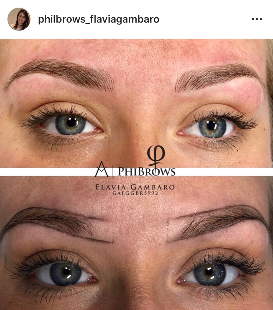 Phibrows Microblanding