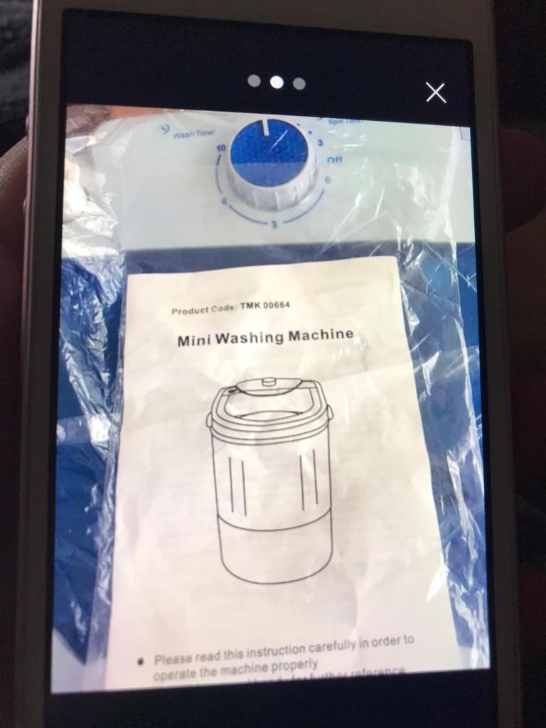 Mini washing machine 2kg