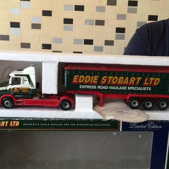 Limited edition Eddie stobart