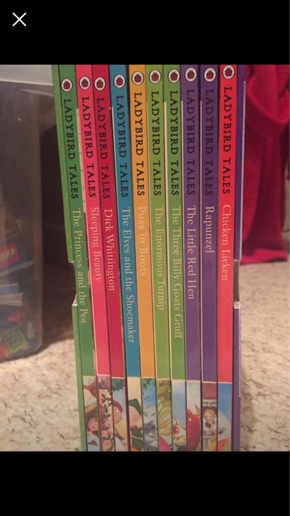 Ladybird book collection
