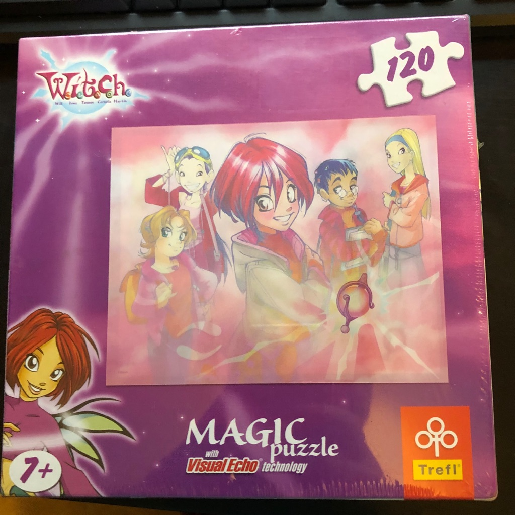CHILDS WITCH MAGIC JIGSAW PUZZLE