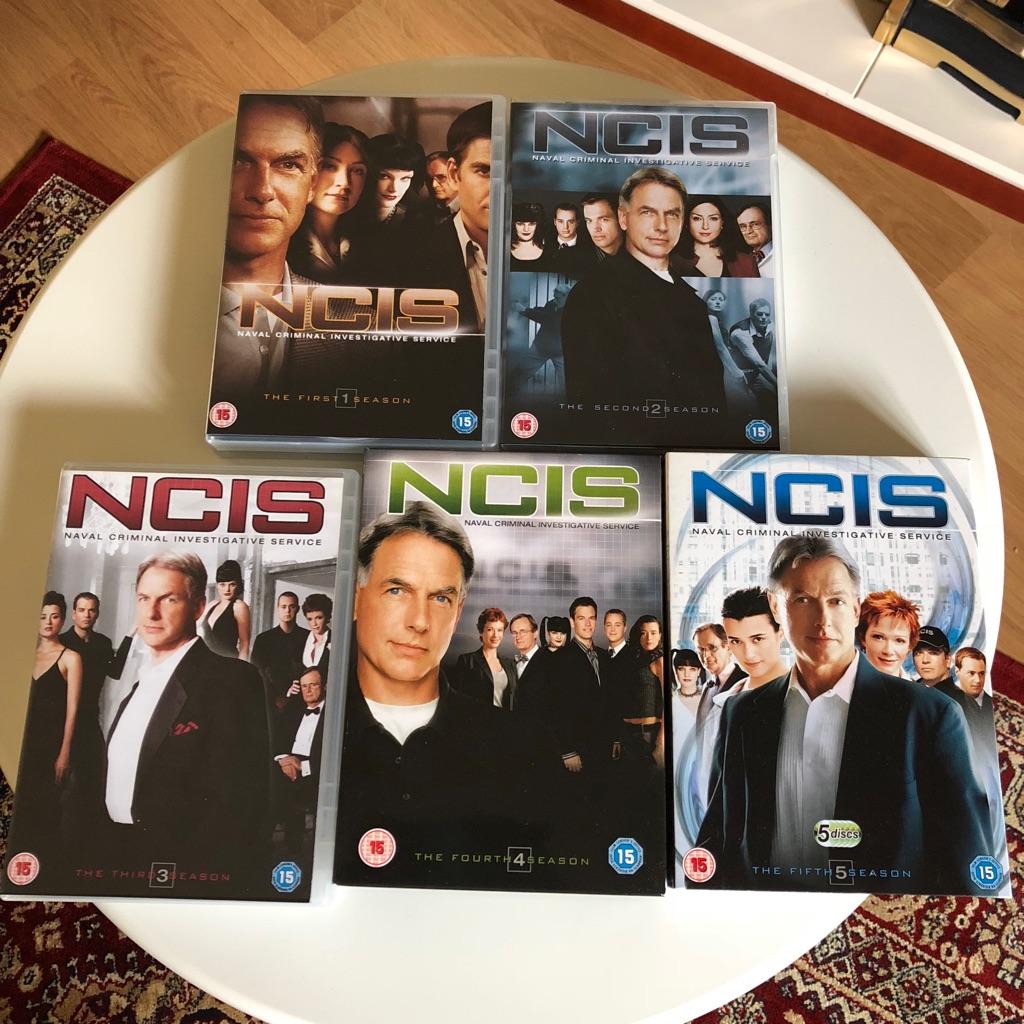 NCIS DVD Boxsets 1-5