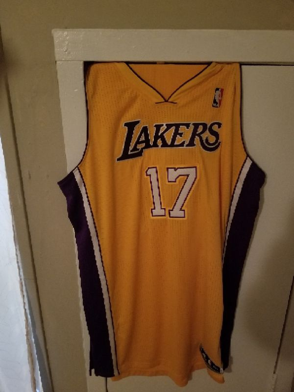 Autographed Lakers Jersey