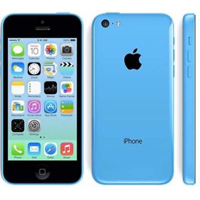 *UNLOCKED* iPhone 5c blue