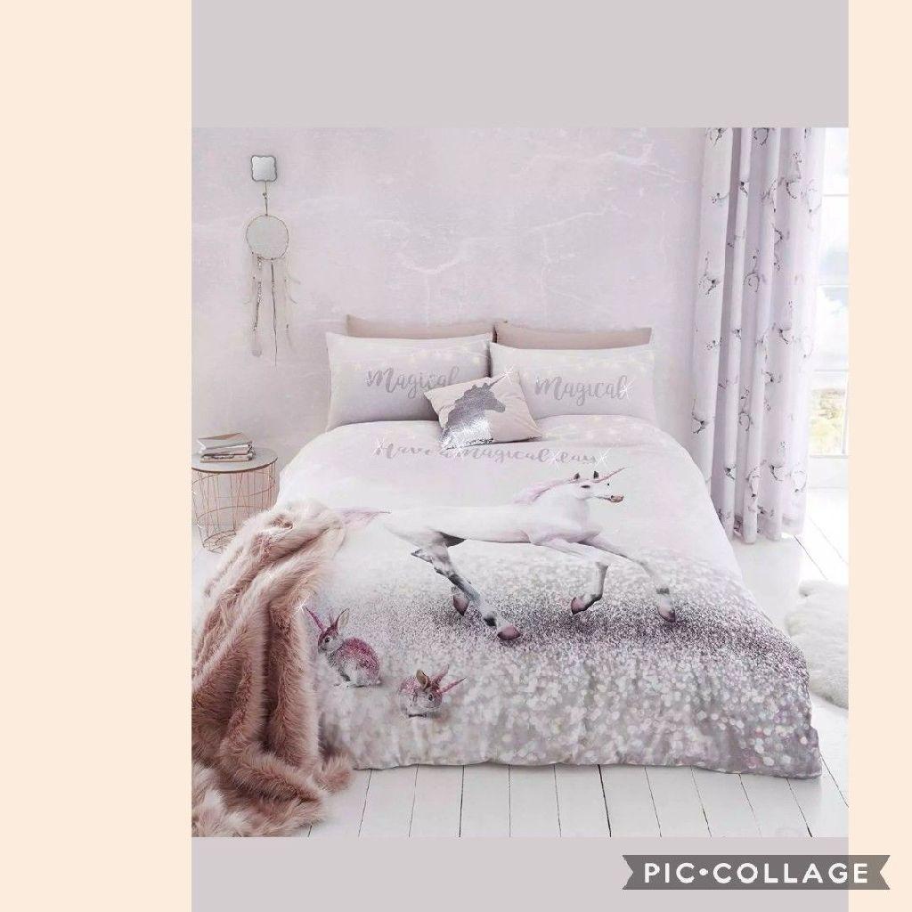 Enchanted Unicorn Duvet Cover Set