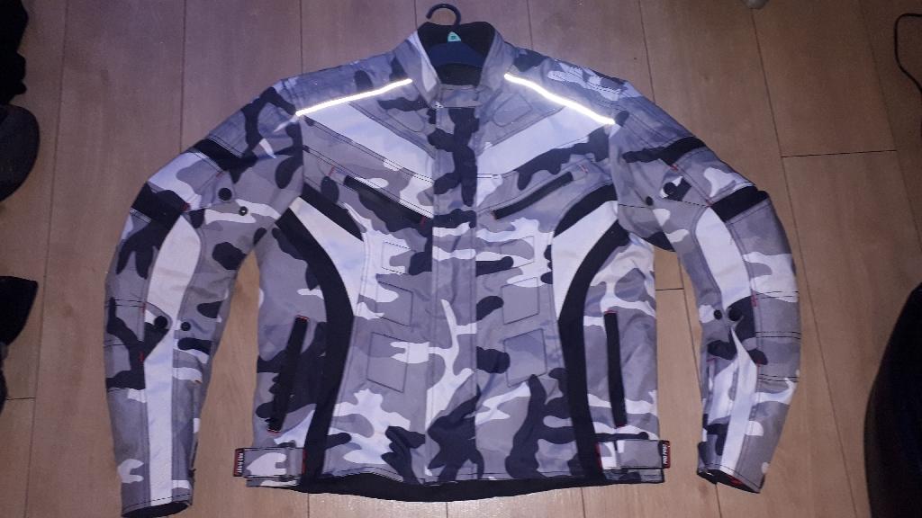 Textile motorcycle jacket-new!