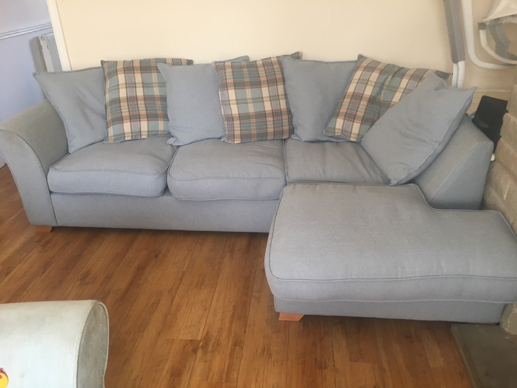 DFS L-shaped sofa