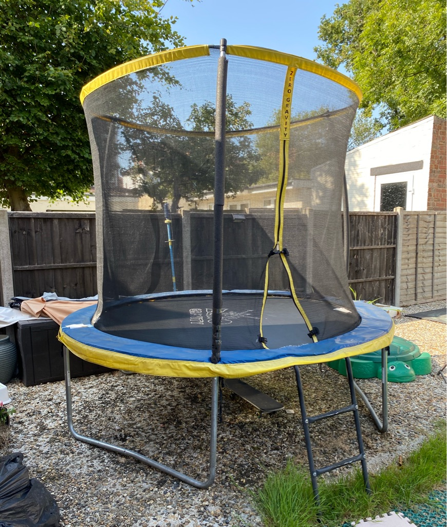 8ft trampoline Zero Gravity