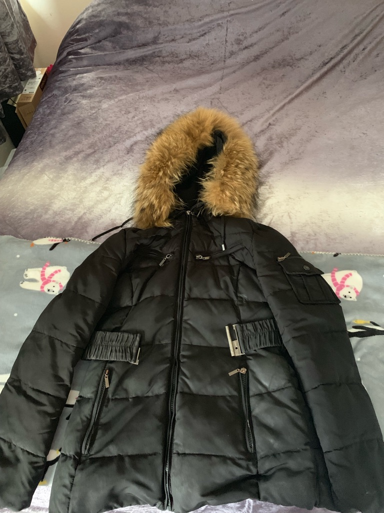Black womens coat