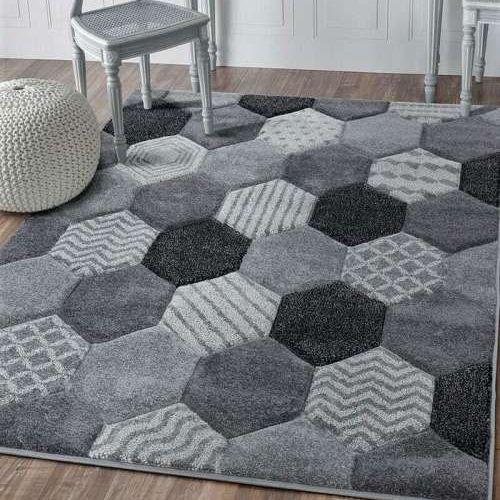 Chicago Hexagon - Grey