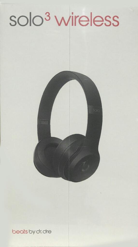 Black Beats by Dre Solo3 Headphones