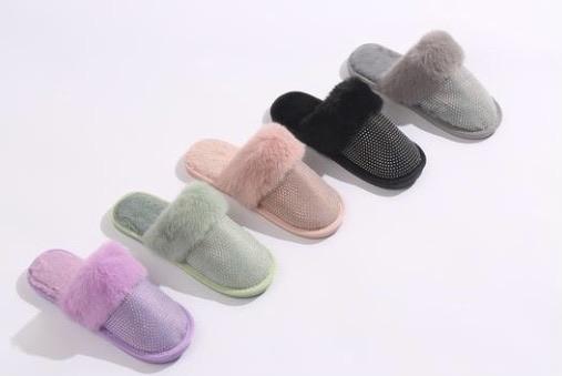 Diamanté slippers 15% off using my code below