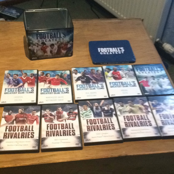 Football dvd collection