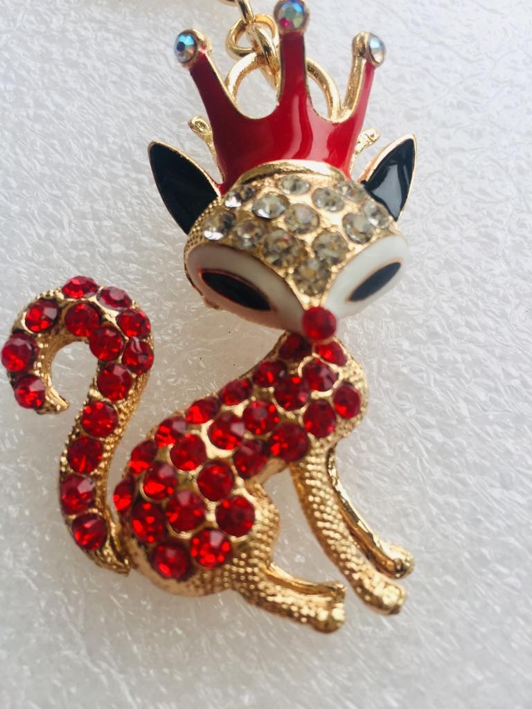 Keys ring holder with fox.### 3