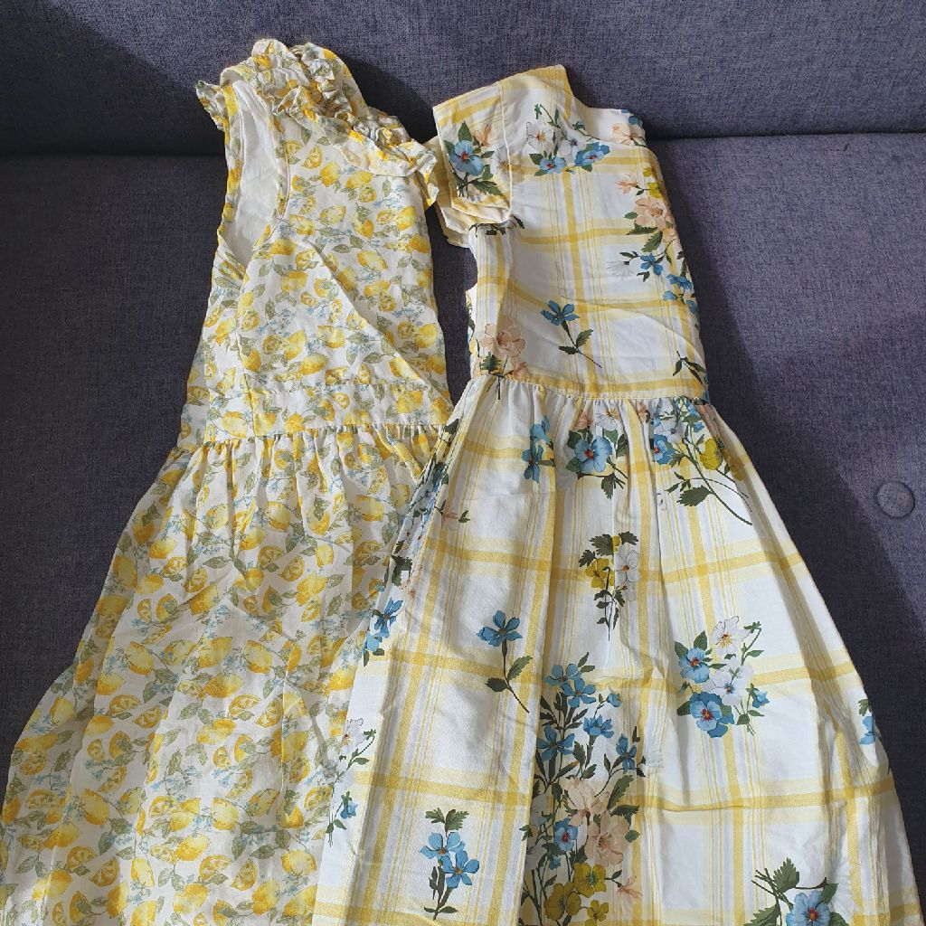 Two aged 7 Next dresses
