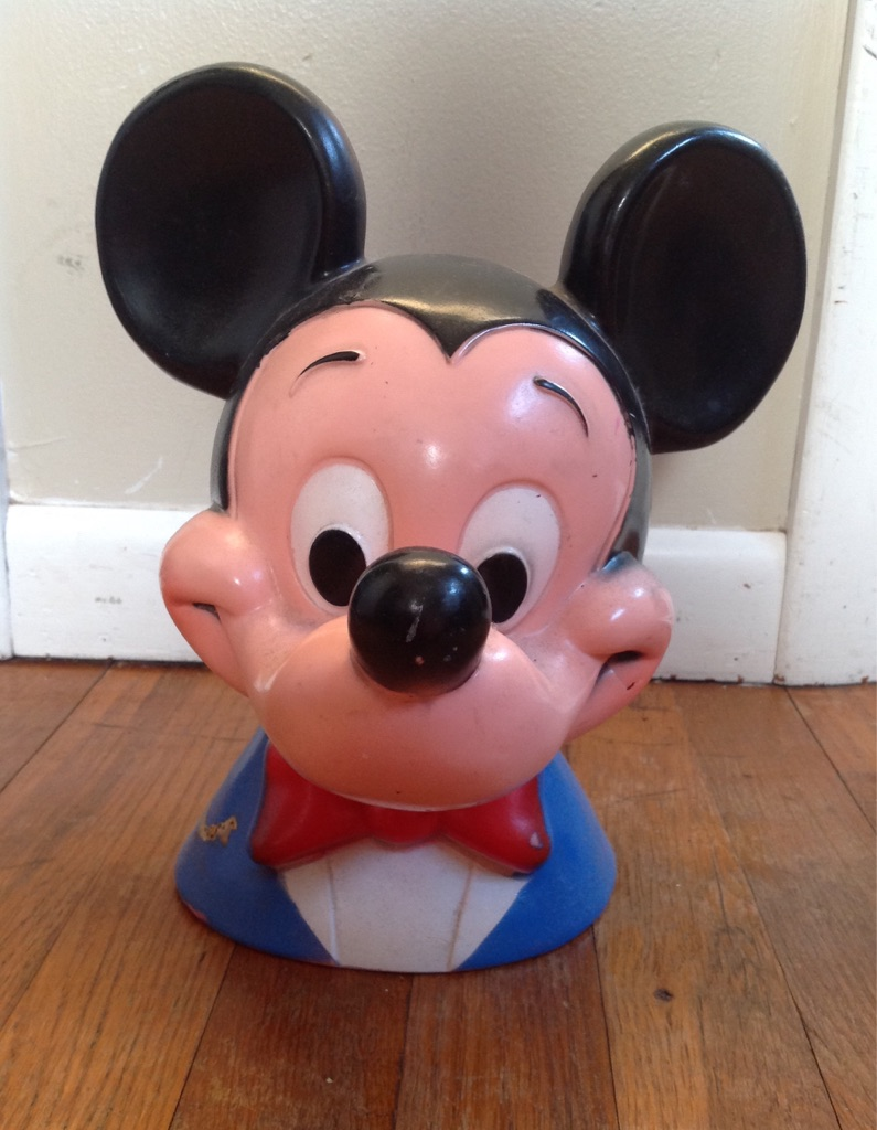 Old 1971 Mickey Mouse bank
