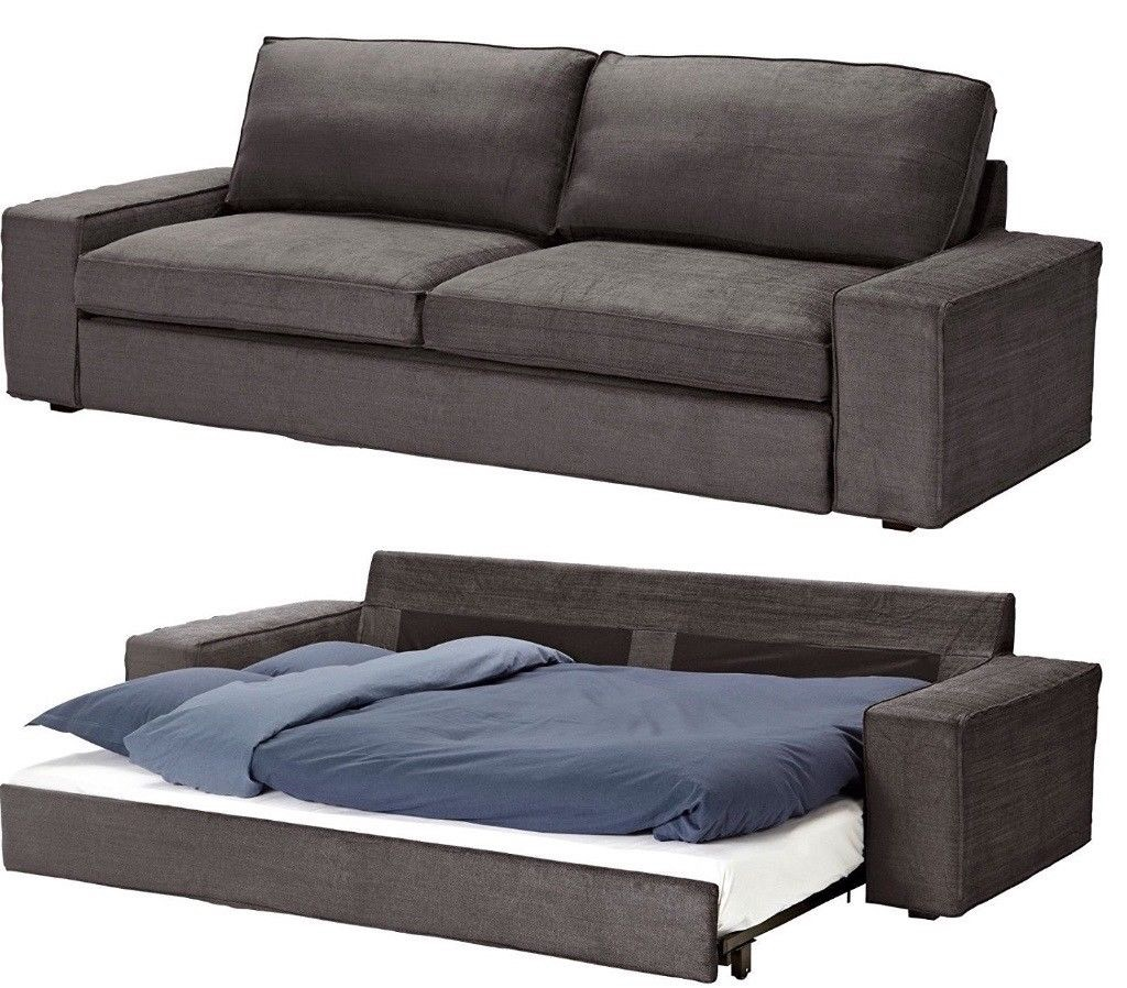 Ikea Kivik 3 Seater Sofa Bed Village