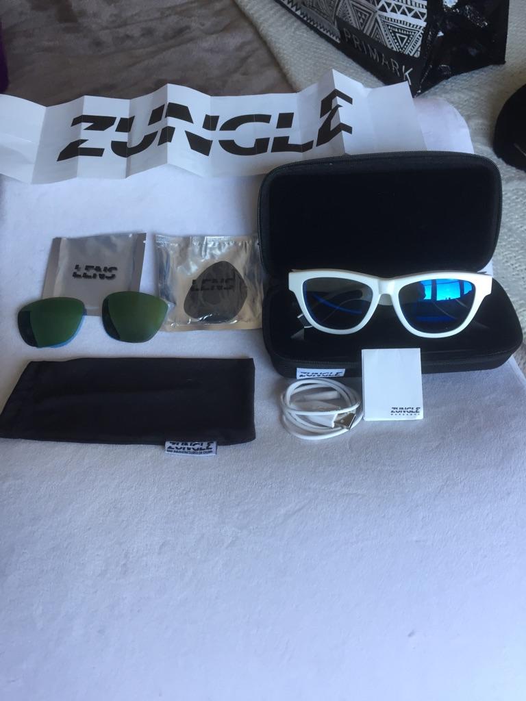 Authentic white zungle sunglasses
