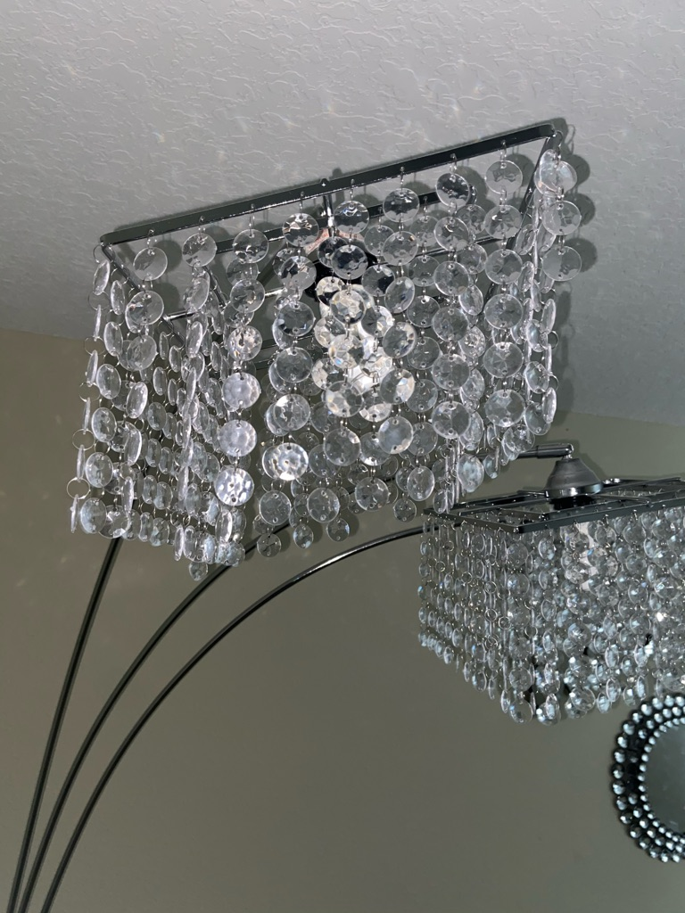 3-Crystal Floor Lamp