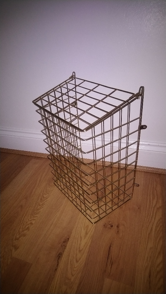 Letterbox cage.