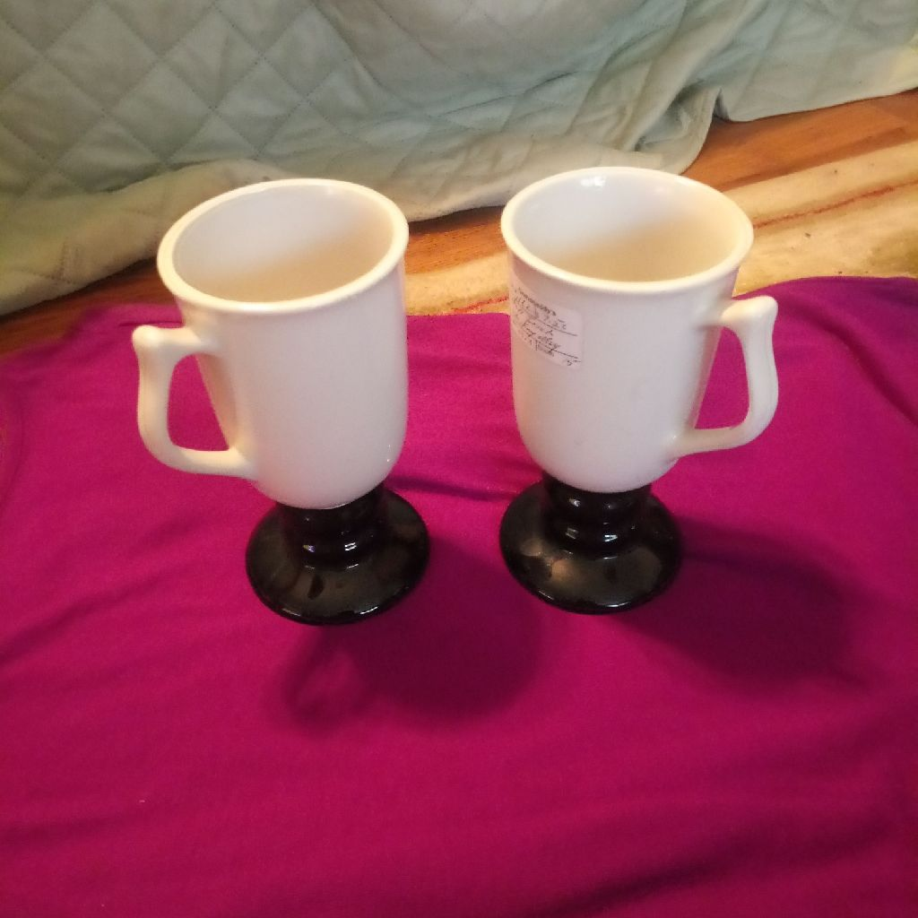 2 medium coffee cups