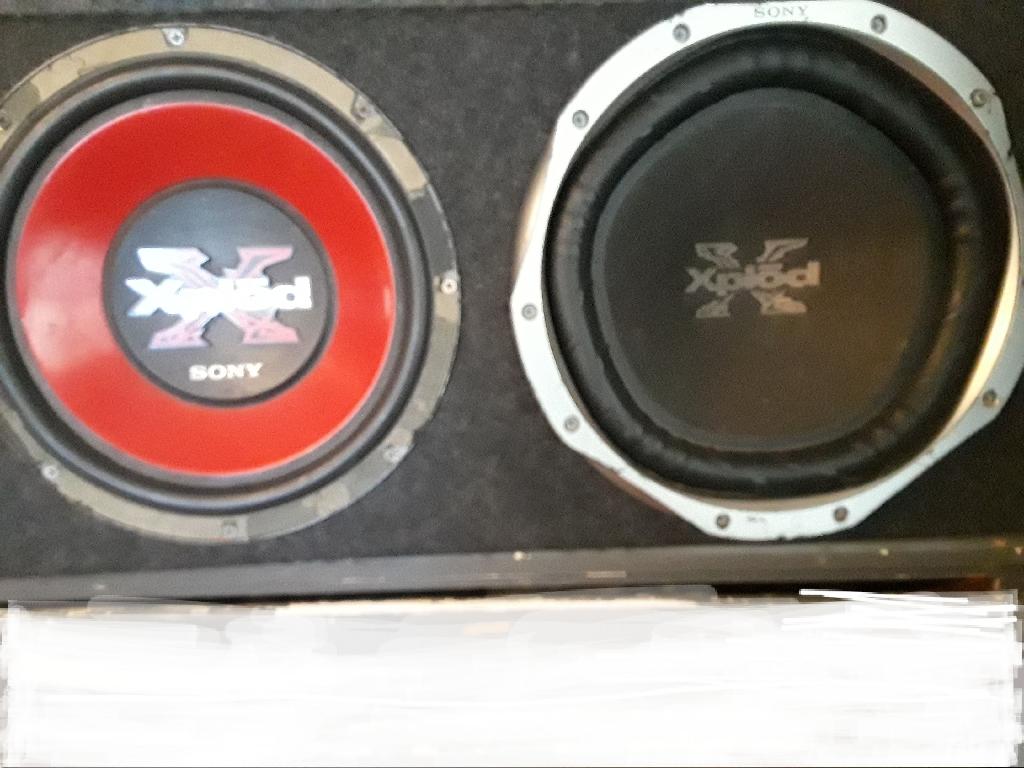 """Sony xplod 12"""" speaker"""