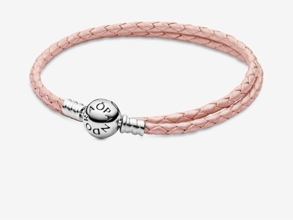 Pandora pink rope bracelet