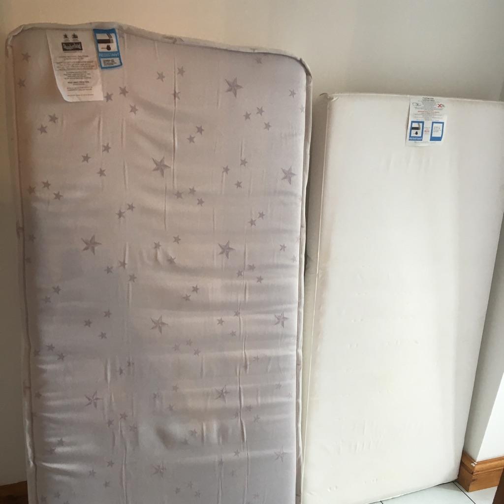 2 x cot mattresses