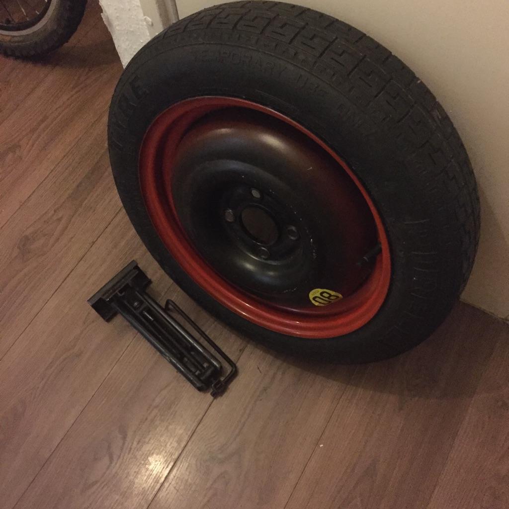 4 stud wheel with jack brand new 15 inch