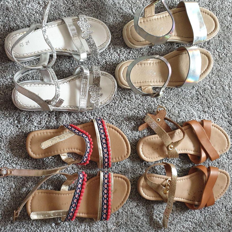 Girls sandles bundle