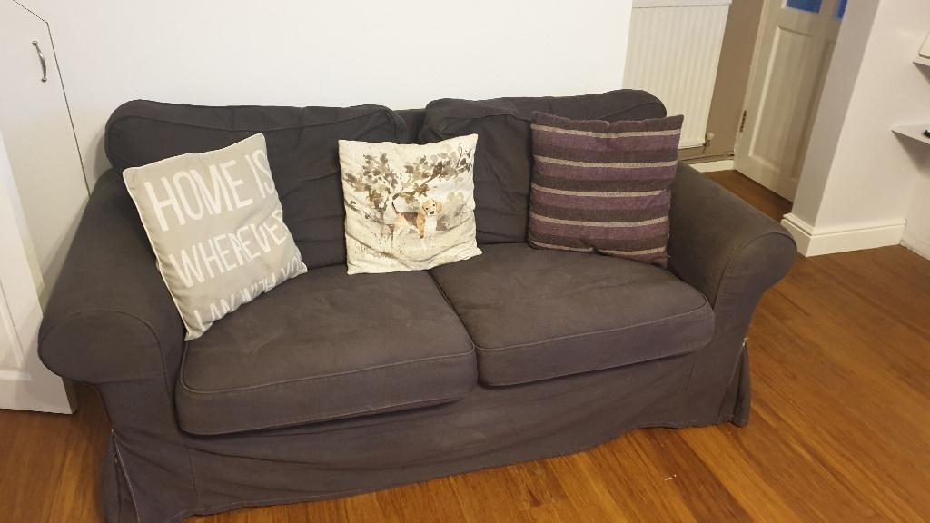 2 ikea ektorp sofas