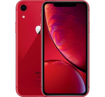 New iPhone XR red 64gb