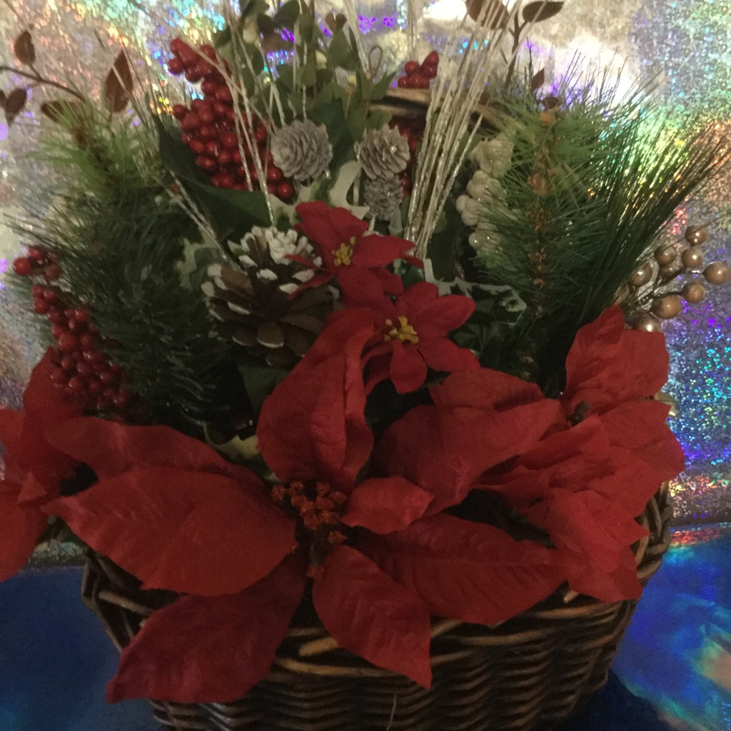 Rustic Christmas Basket