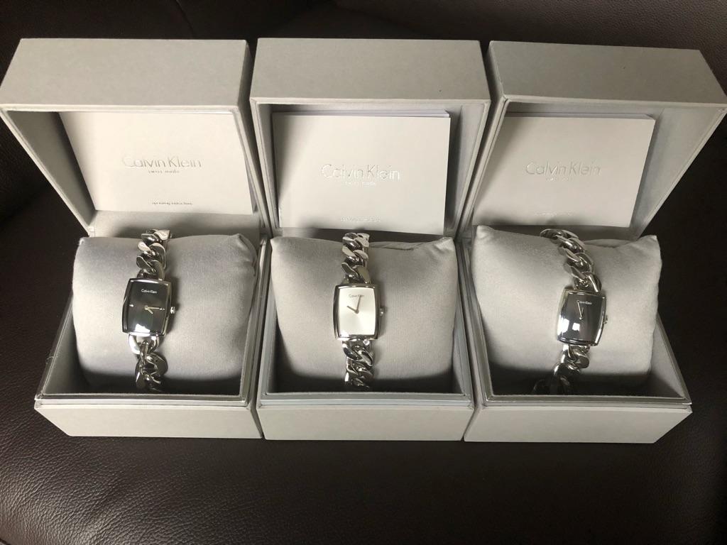 Calvin Klein Authentic Silver Watches