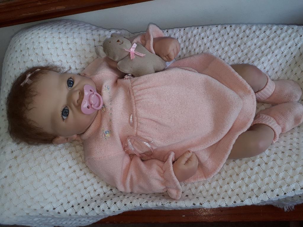 """Ashton-Dreak doll """"Baby Emily Celerbration of life"""""""