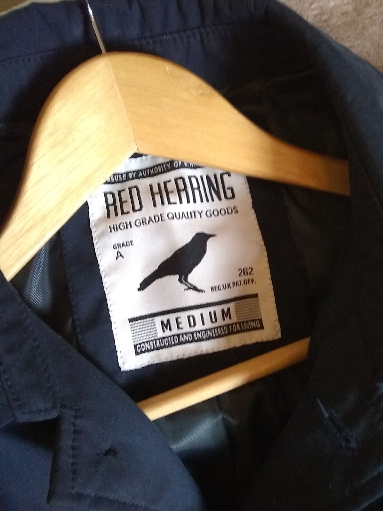 Red Herring Trench Coat