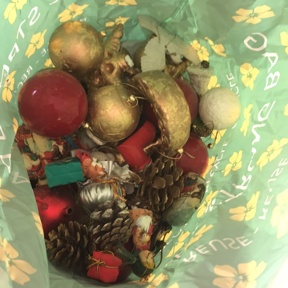 A pack of Christmas decorations free