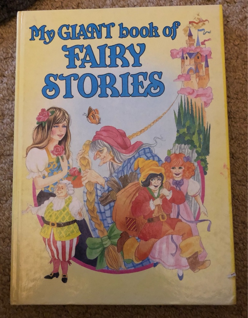 MY GIANT BOOK OF FAIRY STORIES
