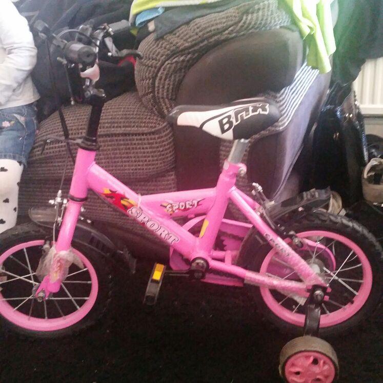 Girls bmx sport bike
