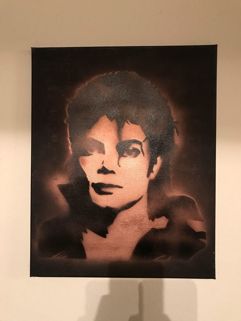 Michael Jackson 16x20 Graffiti Canvas