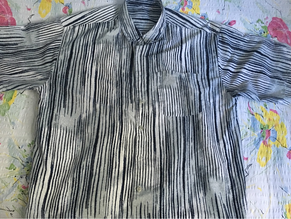 Men's Fancy Striped Shirt
