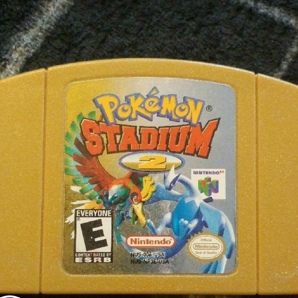 Pokemon stadium 2 for 64