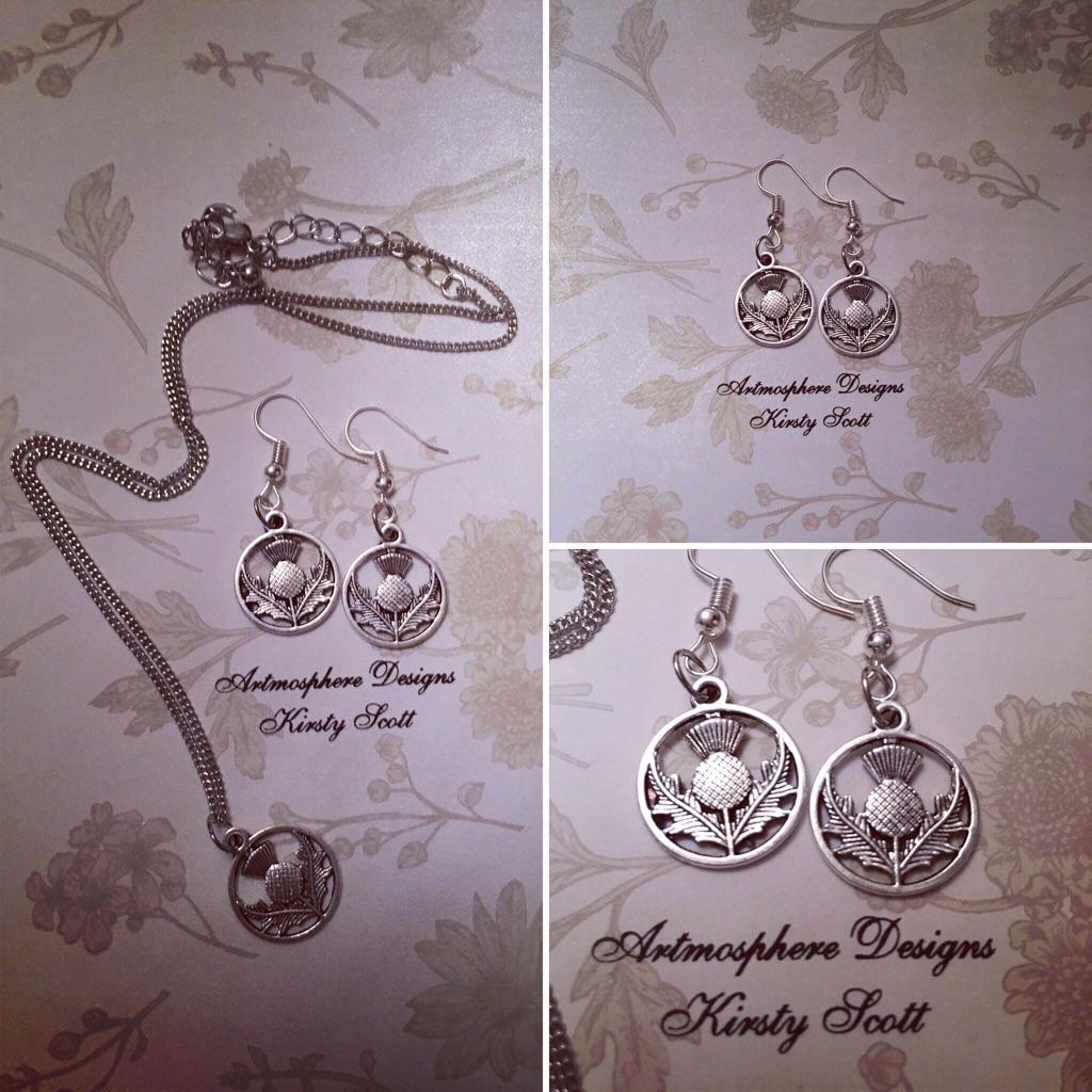 Scottiah inspired handmade jewellery