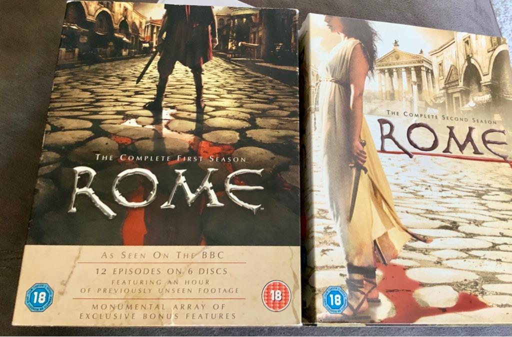 Rome DVD boxsets season 1&2