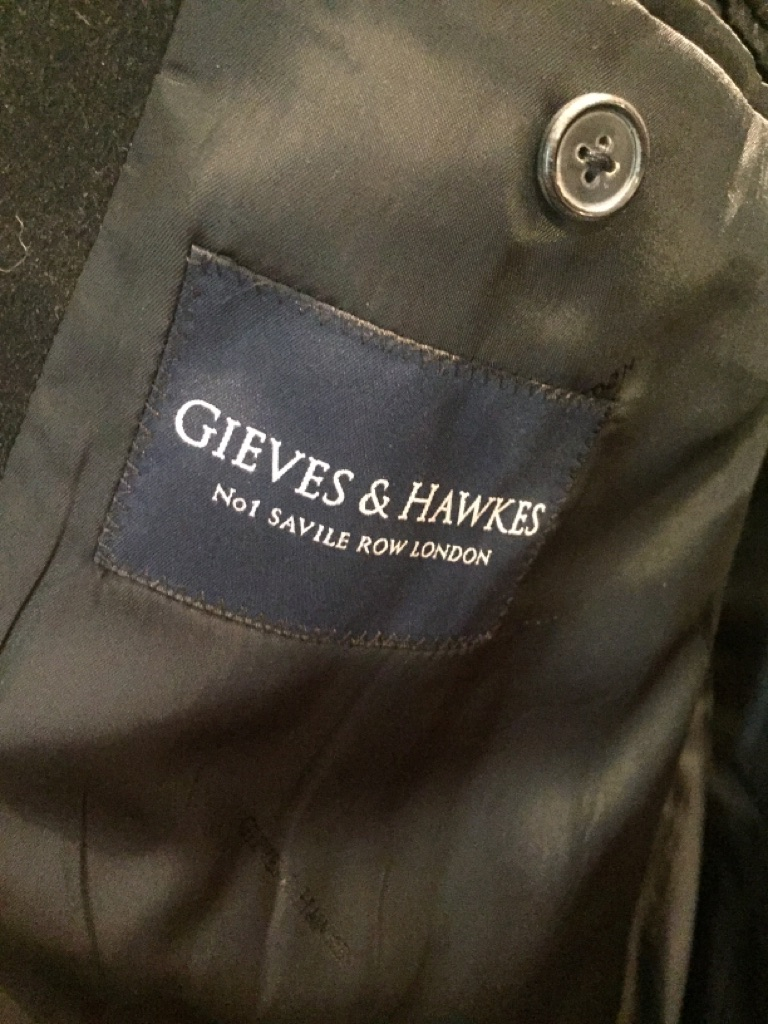 Gieves and Hawkes Mans over coat