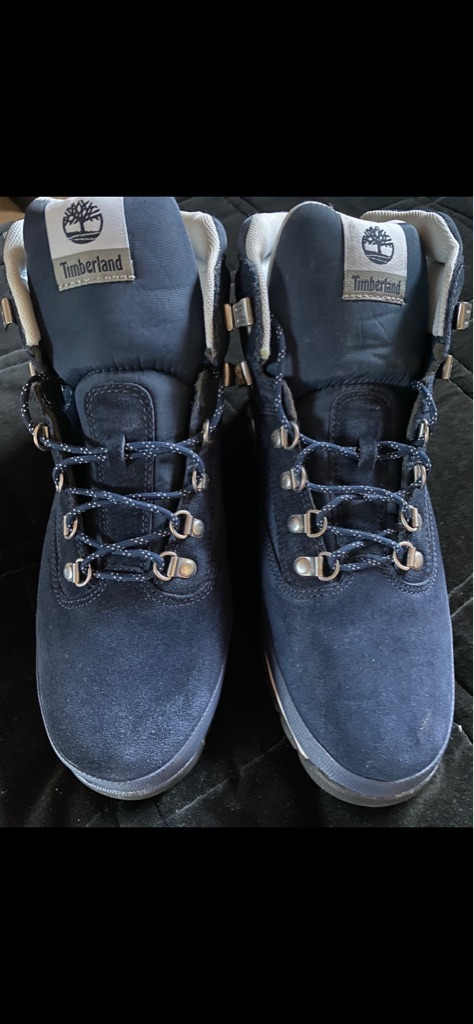 Men's Blue Timberland boots tried on once size 11