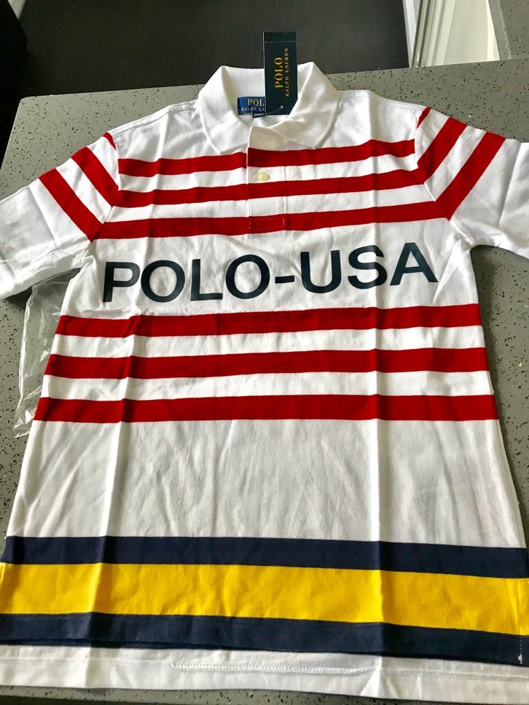 Ralph Lauren Polo Shirt Size M 10-12