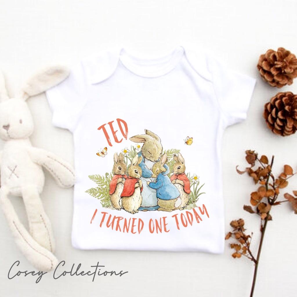 Peter rabbit inspired baby items