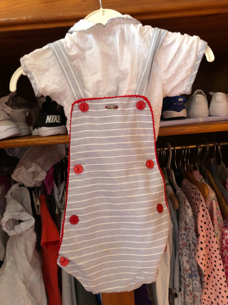 Baby boy dolce petit set age 12 months